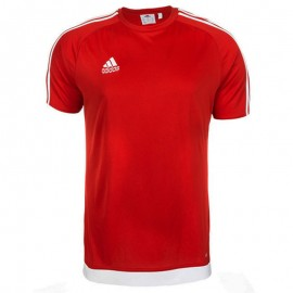 Tee-shirt Estro 15 Football Rouge Homme Adidas