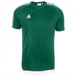 Tee-shirt Estro 15 Football Vert Homme Adidas
