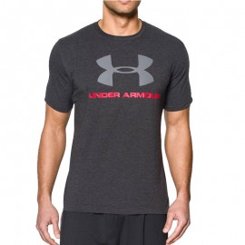 Tee-shirt Spotstyle Logo Gris Homme Under  Armour