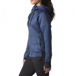 Veste Running Daybreaker Bleu Femme Adidas