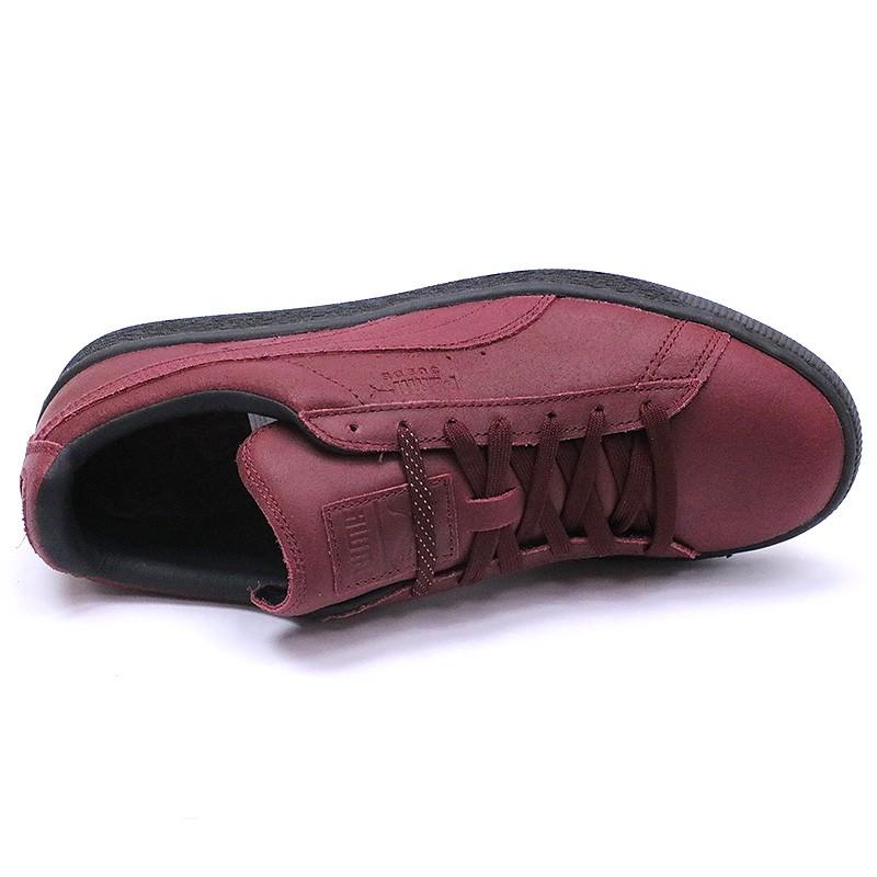 Chaussures Suède Classic Winterized Rouge Homme Puma