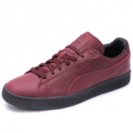 Chaussures Suède Classic Winterized Rouge Homme Puma