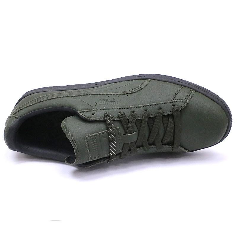 Chaussures Suède Classic Winterized Kaki Homme Puma