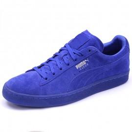 Chaussures Suède Classic Mono Iced Bleu Homme Puma