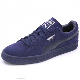 Chaussures Suède Classic Mono Reptile Marine Homme Puma