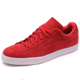 Chaussures Suède Classic Colored Rouge Homme Puma