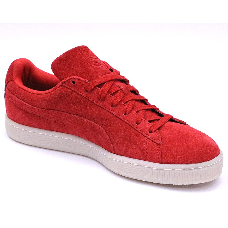 Chaussures Rouge Homme Suède Puma Classic Colored If76gbYyv