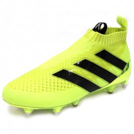 Chaussures Ace 16 + Purecontrol SG Football Jaune Homme Adidas