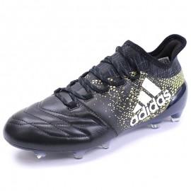 Chaussures X 16.1 FG Cuir Football Noir Homme Adidas