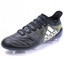 Chaussures X 16.1 SG Cuir Football Noir Homme Adidas