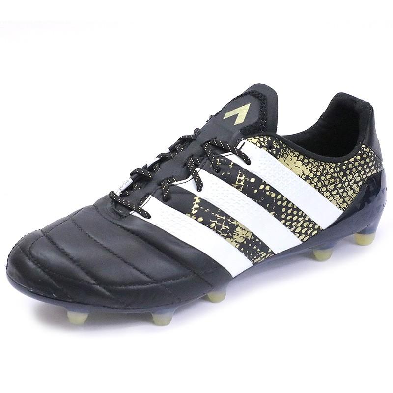 Zcfwqf Football Fg shute 1 Noir Adidas Ace 16 Cuir Homme Chaussures qXRwzfa