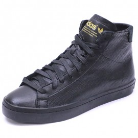 Chaussures Court Vantage Mid Noir Homme Adidas