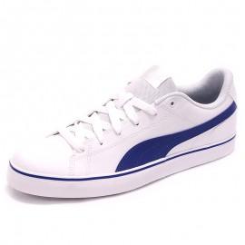 Chaussures Court Point Vulcanisé V2 Blanc Homme Puma