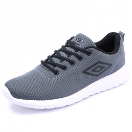 Chaussures Denford Running Gris Homme Umbro