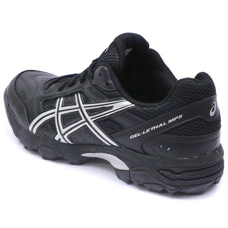 Chaussures Hockey Mp5 Homme Asics Gazon Sur Noir Lethal rOqCr