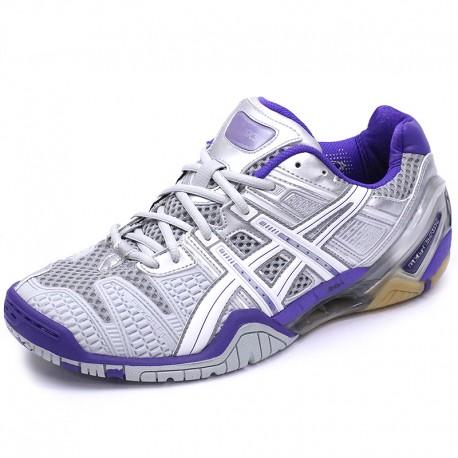 Chaussures Gel Blast 4 Handball Gris Femme Asics