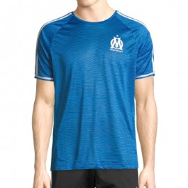 Maillot d'Entrainement Olympique de Marseille Football Bleu Homme Adidas