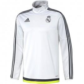 Sweat Real Madrid Football Blanc Garçon Adidas