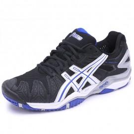 Chaussures Gel Resolution 5 Tennis Noir Homme Asics
