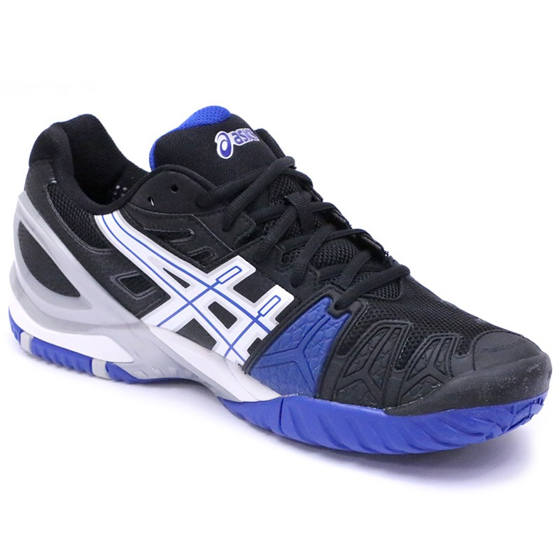 chaussures gel resolution 5 tennis noir homme asics. Black Bedroom Furniture Sets. Home Design Ideas