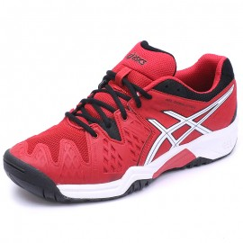 Chaussures Gel Resolution 6 Tennis Rouge Garçon Asics