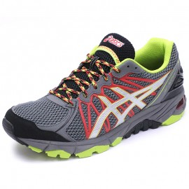 Chaussures Gel Fuji Trabuco 3 Trail Gris Homme Asics