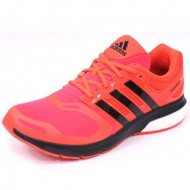 Chaussures Questar Boost TF Rouge Running Homme Adidas
