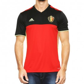Maillot Belgique Football Rouge Homme Adidas