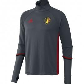 Sweat Entrainement Belgique Football Homme Adidas