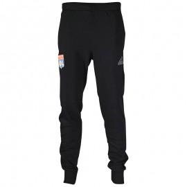 Pantalon Olympique de Lyon Football Noir Homme Adidas