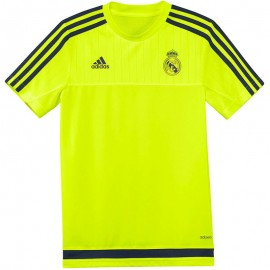 Maillot Entrainement Real Madrid Football  Jaune Garçon Adidas
