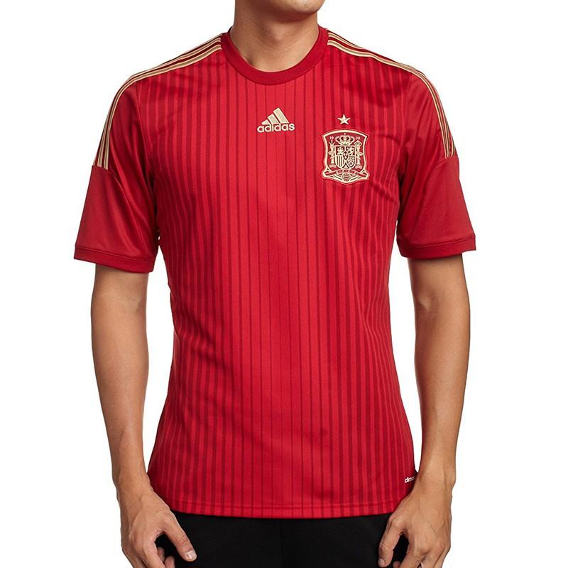 Maillot Espagne Football Rouge Garçon Adidas