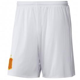 Short Espagne Football Blanc Garçon Adidas