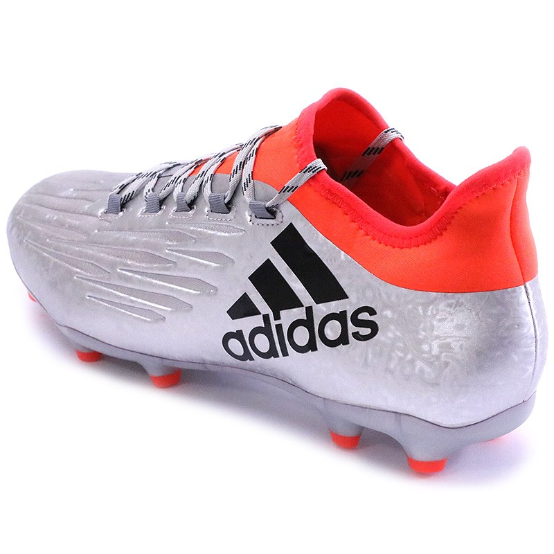 Chaussures X 16.2 FG Gris Football Homme Adidas