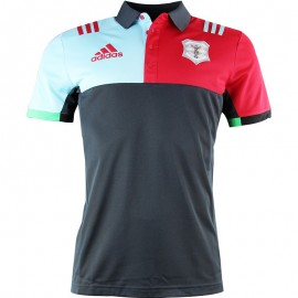Maillot Arlequins Rugby Gris Homme Adidas