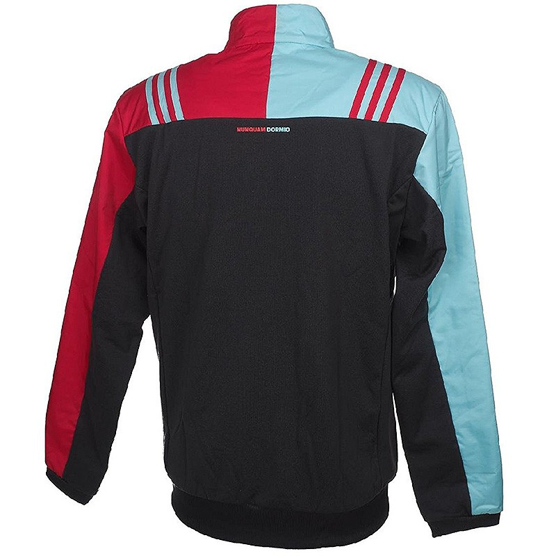 Veste Polaire Arlequins Rugby Gris Homme Adidas