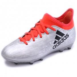 Chaussures X 16.3 FG Gris Football Garçon Adidas