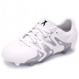 Chaussures X 15.3 FG/AG Blanc Football Garçon Adidas