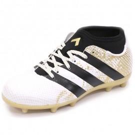 Chaussures Ace 16.3 Primemesh FG/AG Blanc Football Garçon Adidas