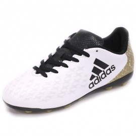 Chaussures X 16.4 FxG Blanc Football Garçon Adidas