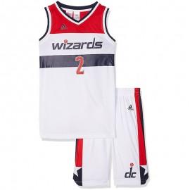 Ensemble John Wall Washington Wizards Basketball Blanc Garçon Adidas