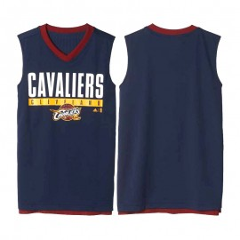 Maillot Réversible Cleveland Cavaliers Basketball Marine Homme Adidas