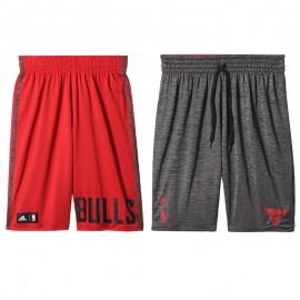 Short réversible Chicago Bulls Basketball Rouge Garçon Adidas
