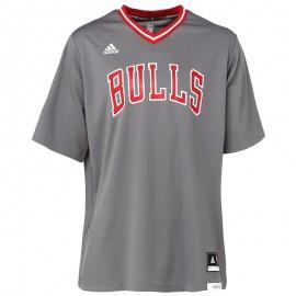 Maillot réplica Chicago Bulls Basketball Gris Homme Adidas