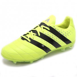 Chaussures Ace 16.2 FG Leather Jaune Football Homme Adidas