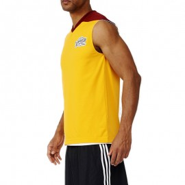 Maillot Réversible Cleveland Cavaliers Basketball Jaune Homme Adidas