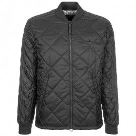Bomber Quilted Superstar Noir Homme Adidas