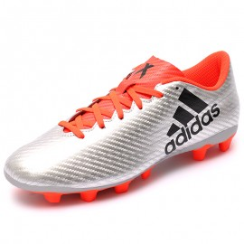 Chaussures X 16.4 FxG Gris Football Homme Adidas