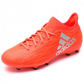 Chaussures X 16.3 FG Rouge Football Homme Adidas