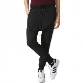 Pantalon Chiffon Noir Femme Adidas